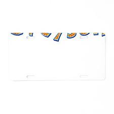 Greyson Giraffe Aluminum License Plate