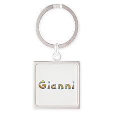 Gianni Giraffe Square Keychain