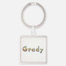 Grady Giraffe Square Keychain