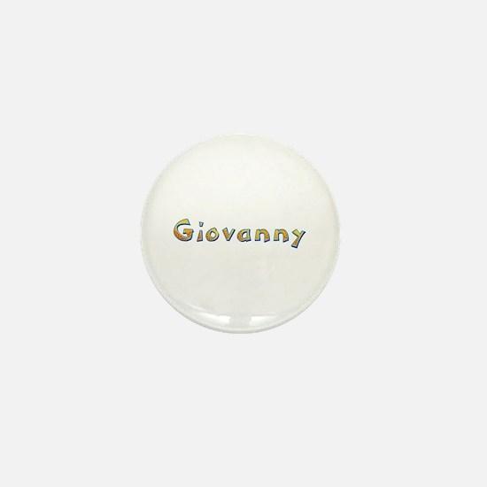 Giovanny Giraffe Mini Button