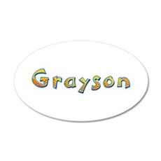Grayson Giraffe Wall Decal