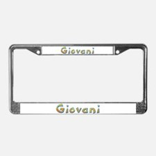 Giovani Giraffe License Plate Frame