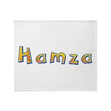 Hamza Giraffe Throw Blanket