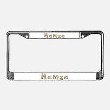 Hamza Giraffe License Plate Frame