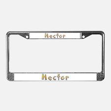 Hector Giraffe License Plate Frame