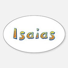 Isaias Giraffe Oval Decal