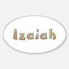 Izaiah Giraffe Oval Decal