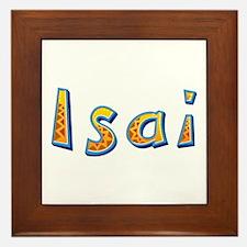 Isai Giraffe Framed Tile