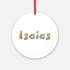 Isaias Giraffe Round Ornament