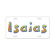 Isaias Giraffe Aluminum License Plate