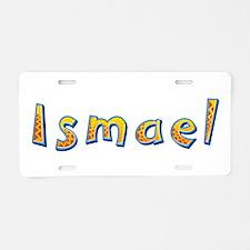 Ismael Giraffe Aluminum License Plate