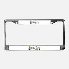 Irvin Giraffe License Plate Frame