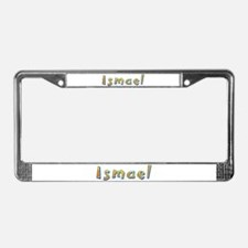 Ismael Giraffe License Plate Frame