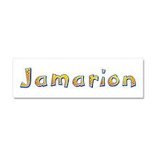 Jamarion Giraffe 10x3 Car Magnet