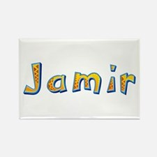 Jamir Giraffe Rectangle Magnet