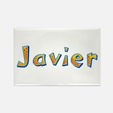 Javier Giraffe Rectangle Magnet