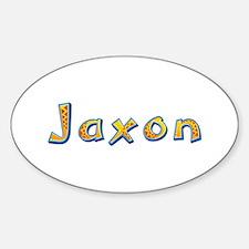 Jaxon Giraffe Oval Decal
