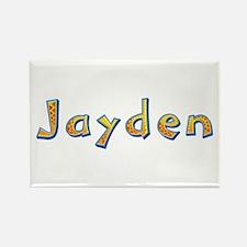 Jayden Giraffe Rectangle Magnet