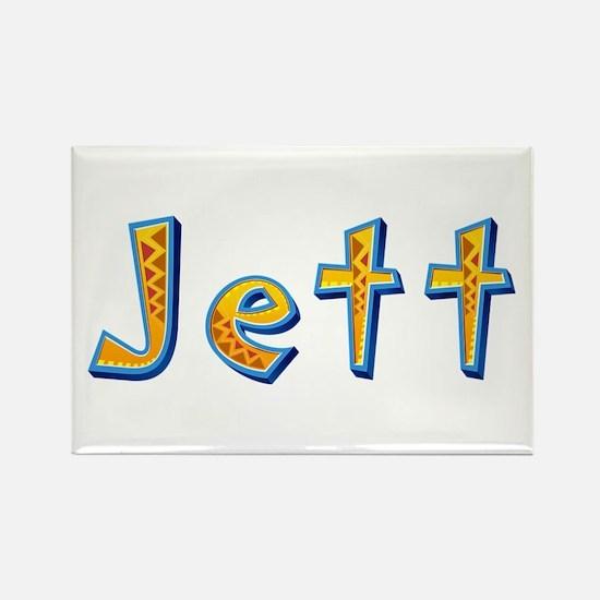 Jett Giraffe Rectangle Magnet