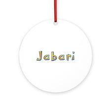 Jabari Giraffe Round Ornament