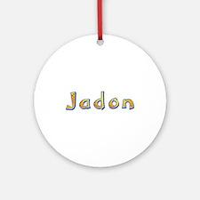Jadon Giraffe Round Ornament