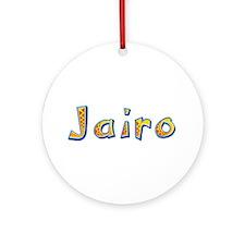 Jairo Giraffe Round Ornament