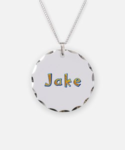 Jake Giraffe Necklace Circle Charm