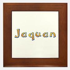 Jaquan Giraffe Framed Tile