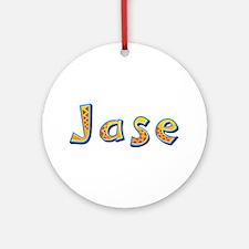 Jase Giraffe Round Ornament