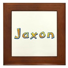 Jaxon Giraffe Framed Tile