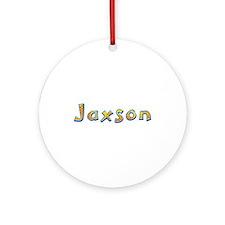 Jaxson Giraffe Round Ornament