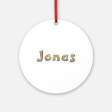 Jonas Giraffe Round Ornament