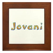 Jovani Giraffe Framed Tile