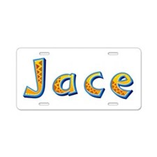Jace Giraffe Aluminum License Plate