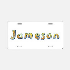 Jameson Giraffe Aluminum License Plate