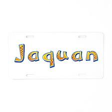 Jaquan Giraffe Aluminum License Plate