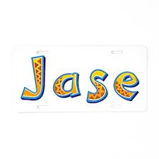Jase Giraffe Aluminum License Plate