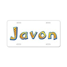 Javon Giraffe Aluminum License Plate