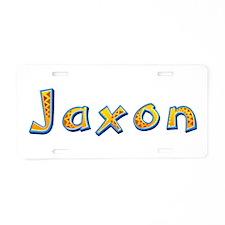 Jaxon Giraffe Aluminum License Plate