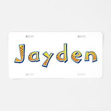 Jayden Giraffe Aluminum License Plate