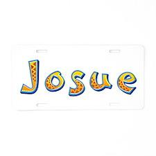 Josue Giraffe Aluminum License Plate