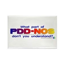 PDD-NOS? Rectangle Magnet
