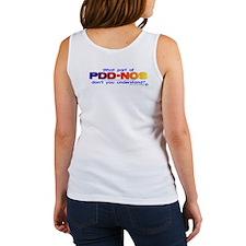 PDD-NOS? (backprint) Women's Tank Top