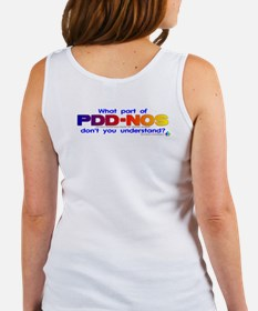 PDD-NOS? (backprint) Women's Tank Top