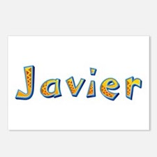 Javier Giraffe Postcards 8 Pack