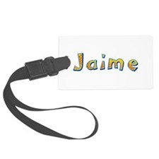 Jaime Giraffe Luggage Tag