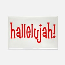 hallelujah Rectangle Magnet