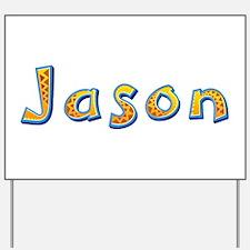 Jason Giraffe Yard Sign