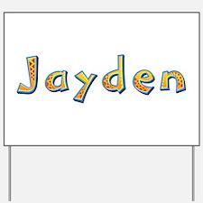 Jayden Giraffe Yard Sign