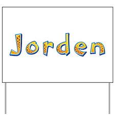 Jorden Giraffe Yard Sign